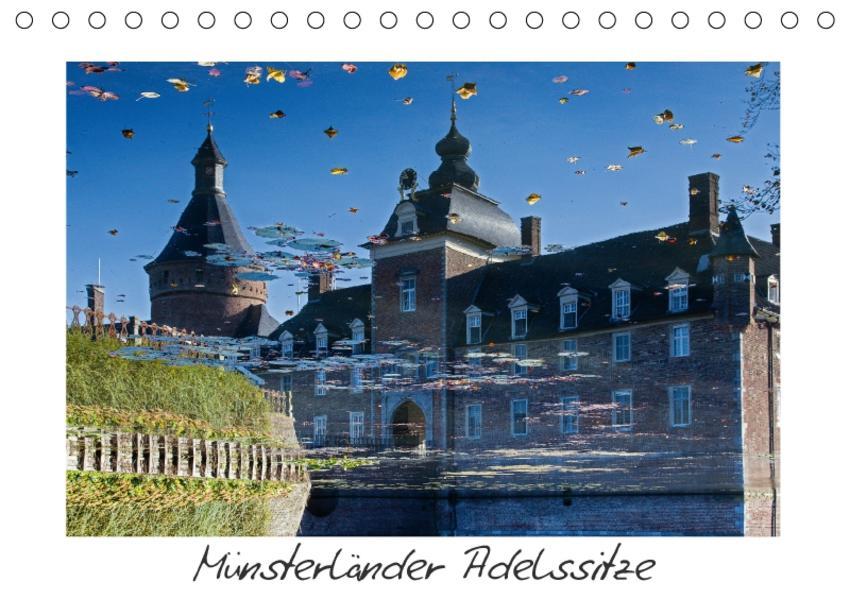 Münsterländer Adelssitze (Tischkalender 2017 DIN A5 quer) - Coverbild