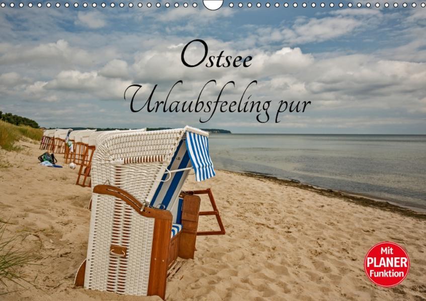 Ostsee Urlaubsfeeling pur (Wandkalender 2017 DIN A3 quer) - Coverbild