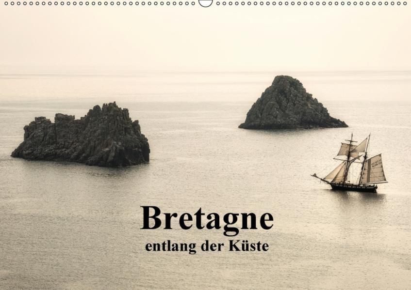 Bretagne entlang der Küste (Wandkalender 2017 DIN A2 quer) - Coverbild