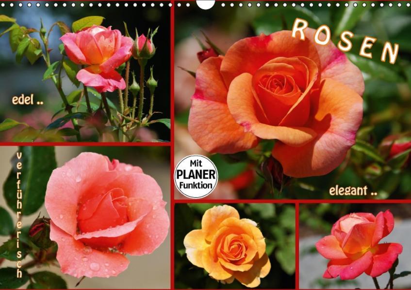 ROSEN - edel - elegant - verführerisch (Wandkalender 2017 DIN A3 quer) - Coverbild