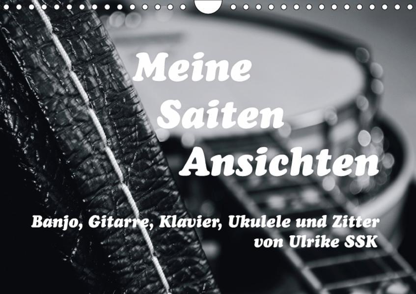 Meine Saiten Ansichten - Banjo, Gitarre, Klavier, Ukulele und Zitter von Ulrike SSK (Wandkalender 2017 DIN A4 quer) - Coverbild