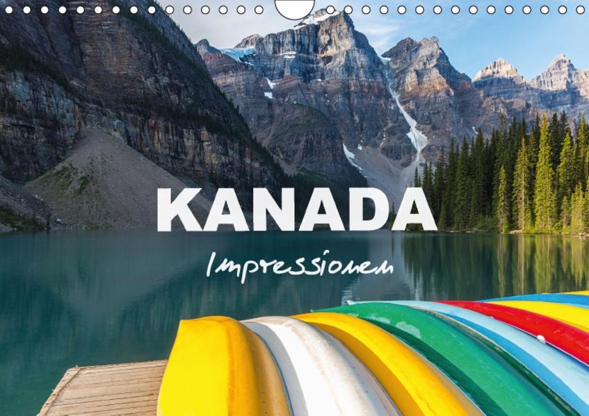 Kanada - Impressionen (Wandkalender 2017 DIN A4 quer) - Coverbild