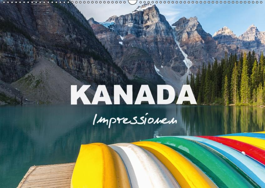 Kanada - Impressionen (Wandkalender 2017 DIN A2 quer) - Coverbild