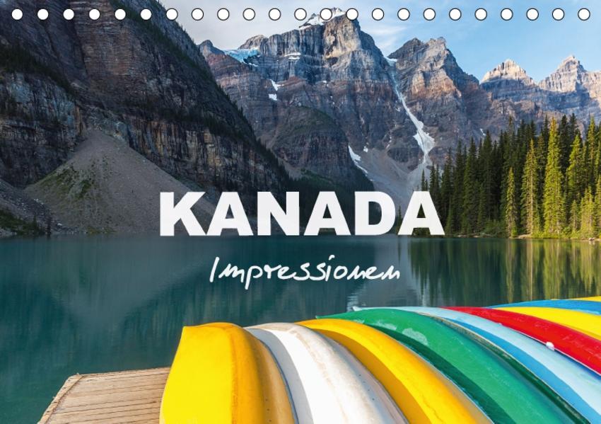 Kanada - Impressionen (Tischkalender 2017 DIN A5 quer) - Coverbild