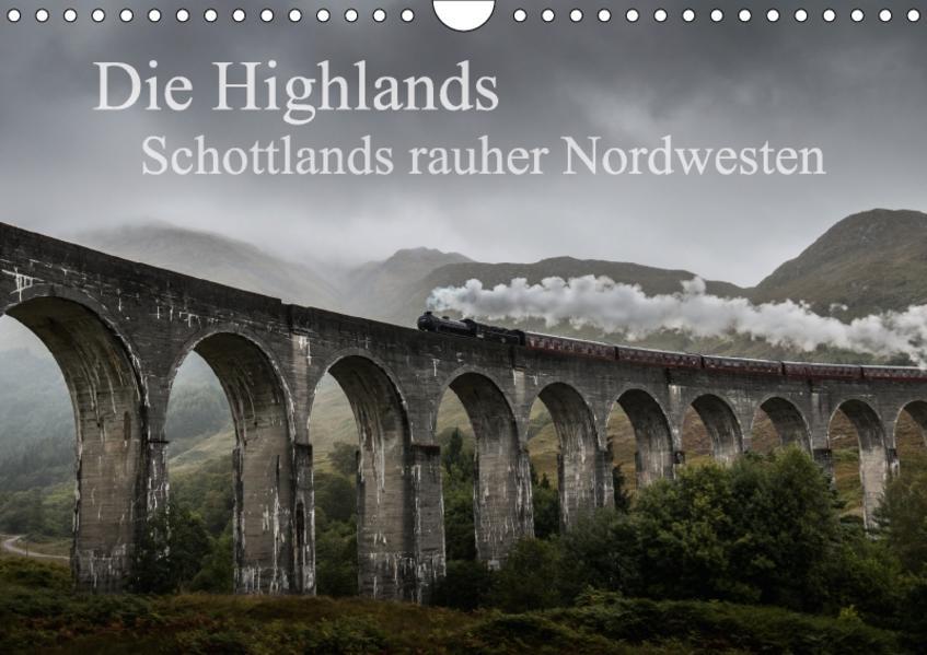 Die Highlands - Schottlands rauher Nordwesten (Wandkalender 2017 DIN A4 quer) - Coverbild