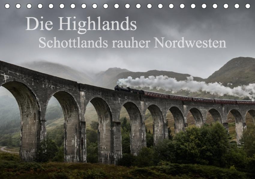 Die Highlands - Schottlands rauher Nordwesten (Tischkalender 2017 DIN A5 quer) - Coverbild