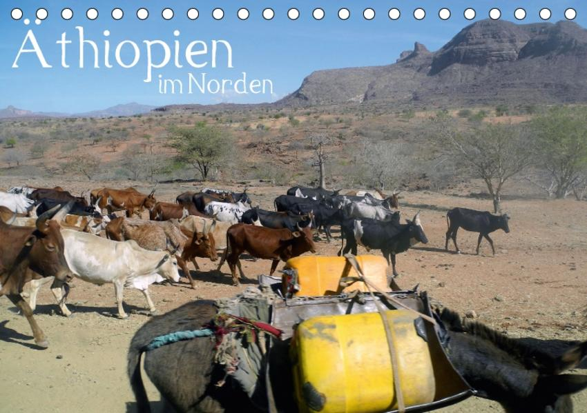 Äthiopien im Norden (Tischkalender 2017 DIN A5 quer) - Coverbild