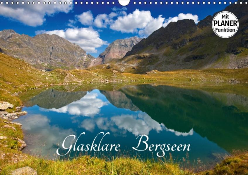 Glasklare Bergseen (Wandkalender 2017 DIN A3 quer) - Coverbild