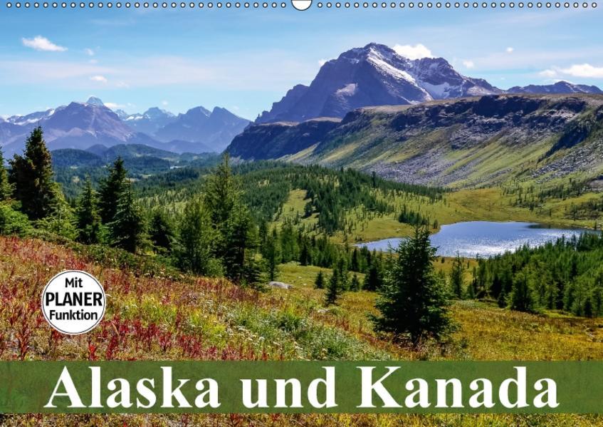 Alaska und Kanada (Wandkalender 2017 DIN A2 quer) - Coverbild
