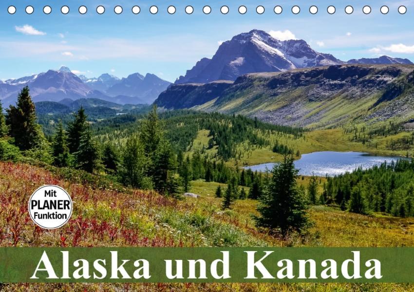 Alaska und Kanada (Tischkalender 2017 DIN A5 quer) - Coverbild