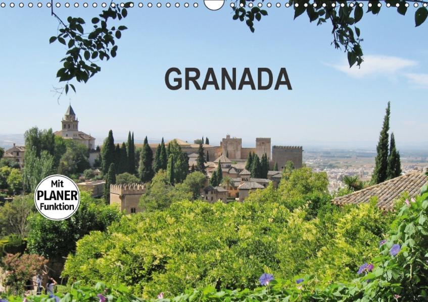 Granada (Wandkalender 2017 DIN A3 quer) - Coverbild