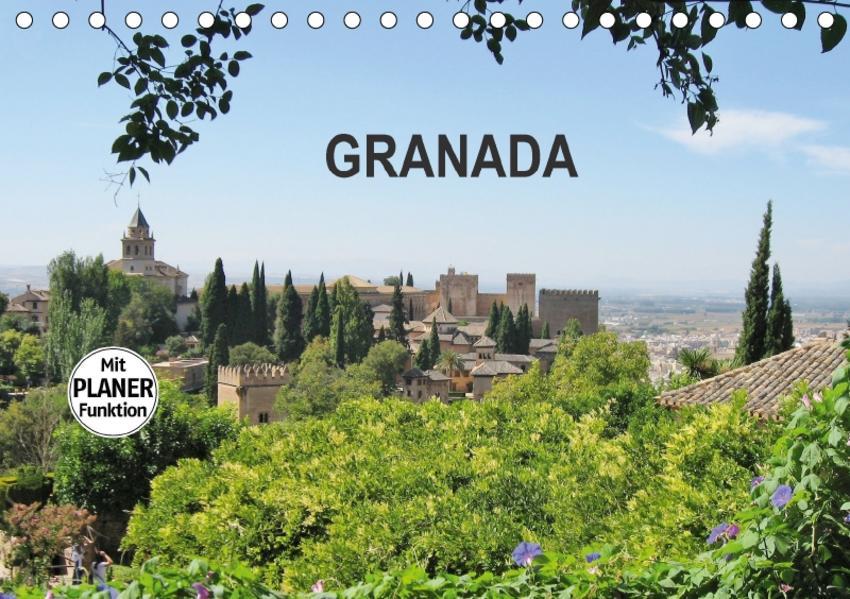 Granada (Tischkalender 2017 DIN A5 quer) - Coverbild