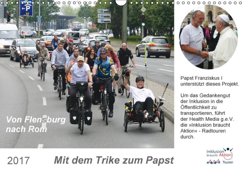 Mit dem Trike zum Papst (Wandkalender 2017 DIN A3 quer) - Coverbild