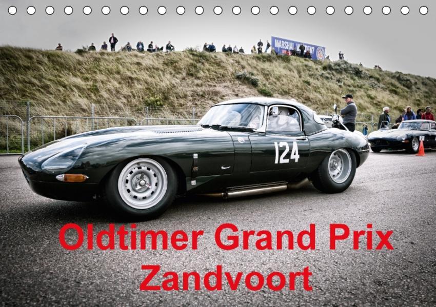 Oldtimer Grand Prix Zandvoort (Tischkalender 2017 DIN A5 quer) - Coverbild