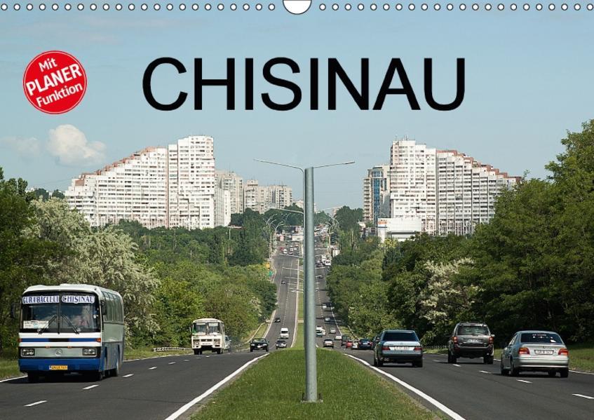 Chisinau (Wandkalender 2017 DIN A3 quer) - Coverbild