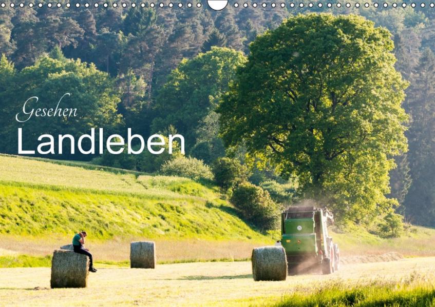 Gesehen - Landleben (Wandkalender 2017 DIN A3 quer) - Coverbild