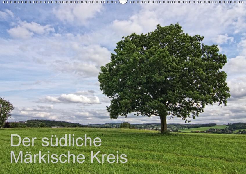 Der südliche Märkische Kreis (Wandkalender 2017 DIN A2 quer) - Coverbild