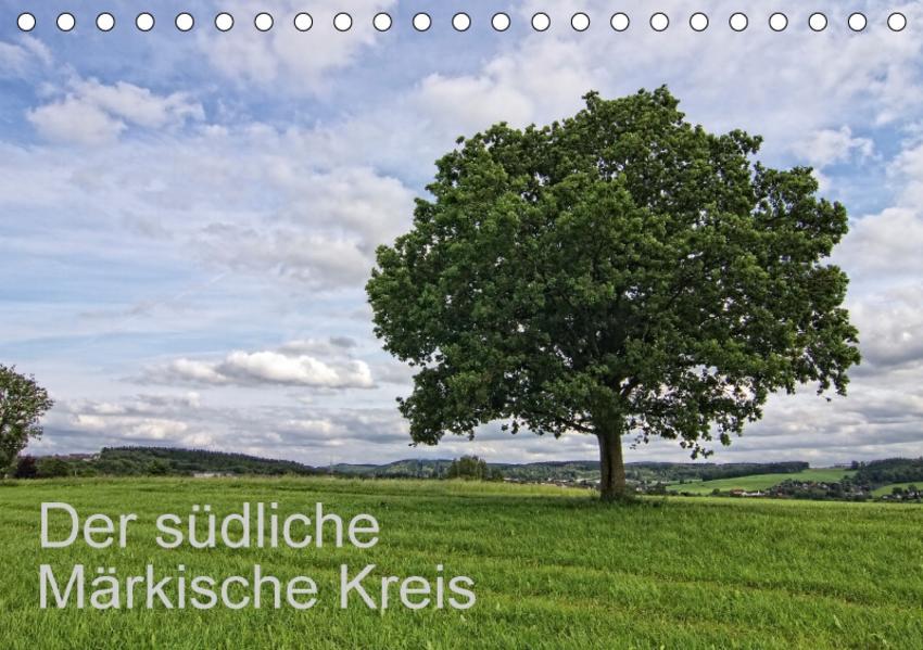 Der südliche Märkische Kreis (Tischkalender 2017 DIN A5 quer) - Coverbild