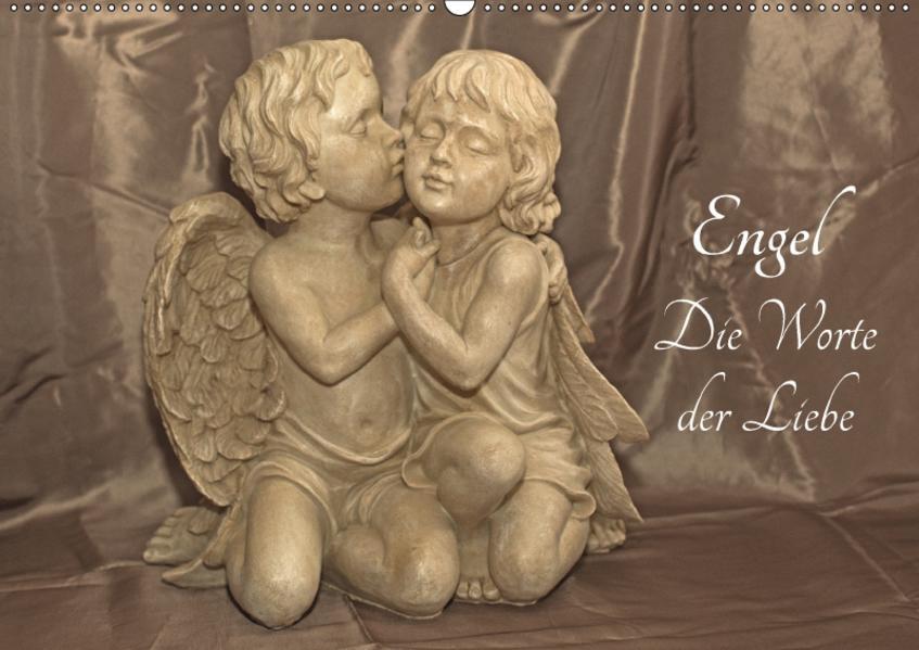 Engel - Die Worte der Liebe (Wandkalender 2017 DIN A2 quer) - Coverbild