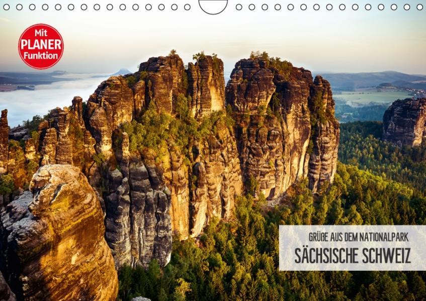 Grüße aus dem Nationalpark Sächsische Schweiz (Wandkalender 2017 DIN A4 quer) - Coverbild