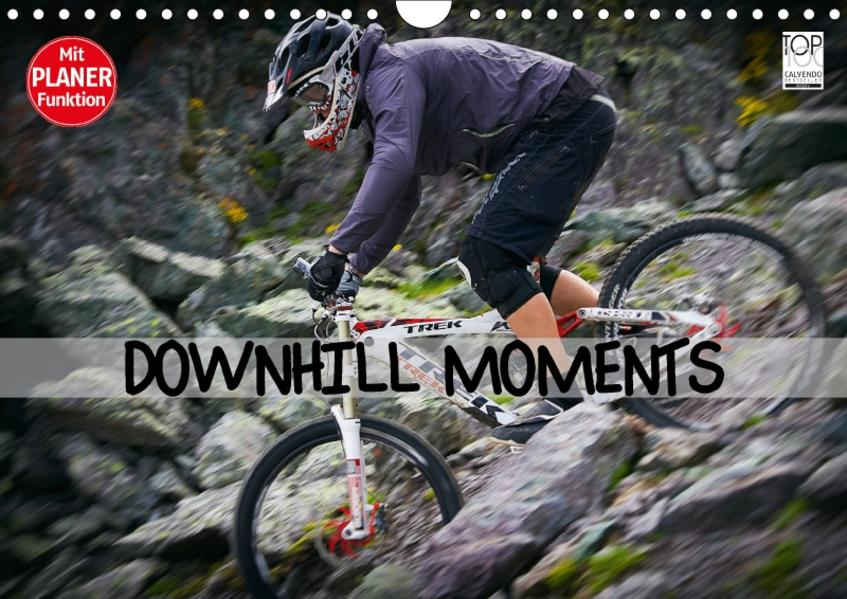 Downhill Moments (Wandkalender 2017 DIN A4 quer) - Coverbild