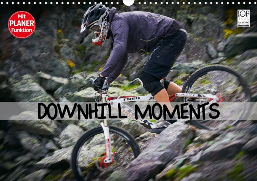 Downhill Moments (Wandkalender 2017 DIN A3 quer) - Coverbild