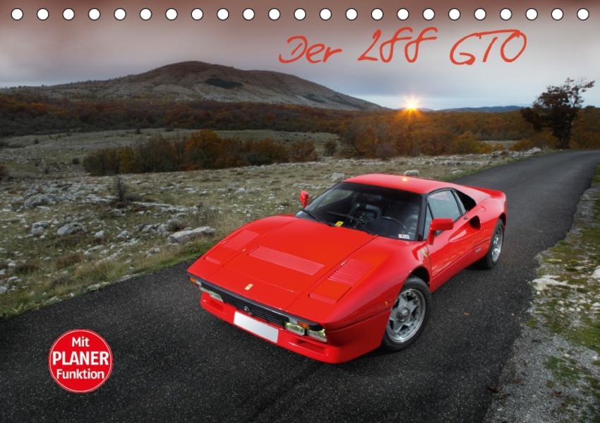 Ferrari 288 GTO (Tischkalender 2017 DIN A5 quer) - Coverbild
