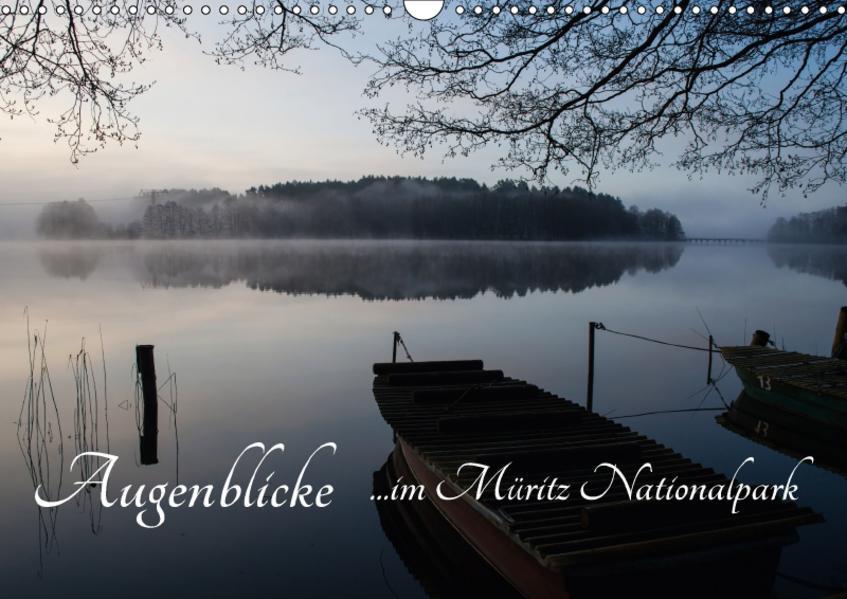Augenblicke im Müritz Nationalpark (Wandkalender 2017 DIN A3 quer) - Coverbild