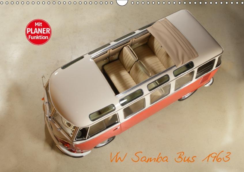 VW Samba Bus 1963 (Wandkalender 2017 DIN A3 quer) - Coverbild