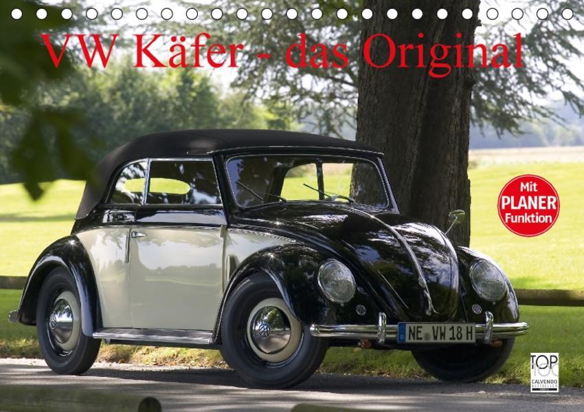 VW Käfer - Das Original (Tischkalender 2017 DIN A5 quer) - Coverbild