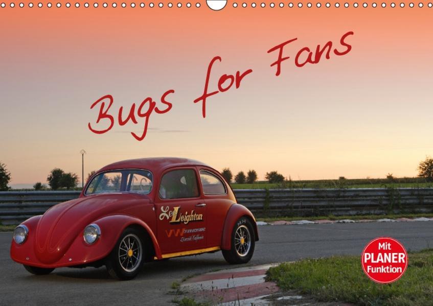 Bugs for Fans (Wandkalender 2017 DIN A3 quer) - Coverbild