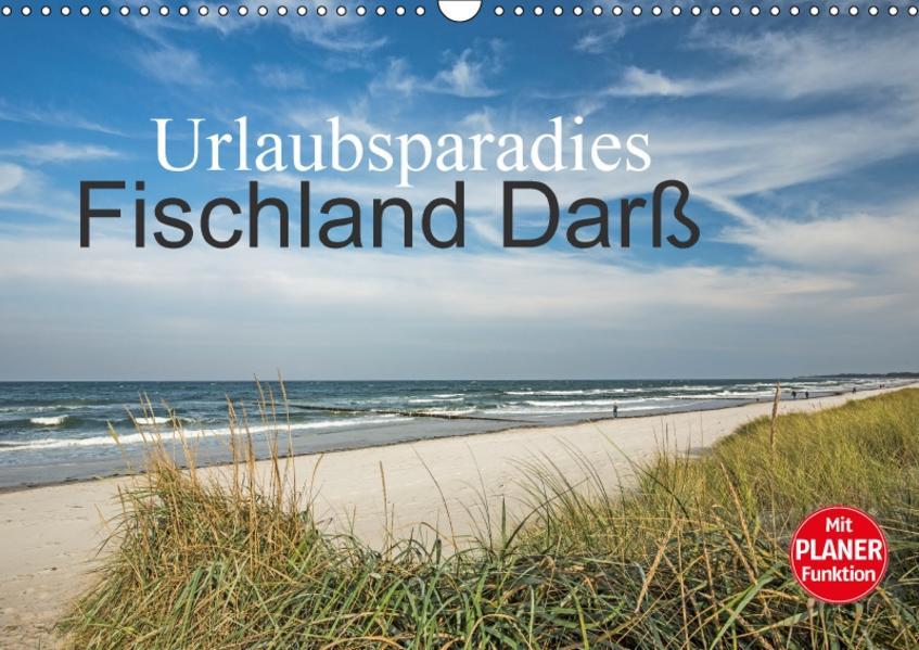 Urlaubsparadies Fischland Darß (Wandkalender 2017 DIN A3 quer) - Coverbild