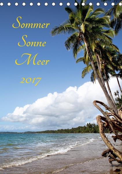 Sommer Sonne Meer 2017 (Tischkalender 2017 DIN A5 hoch) - Coverbild