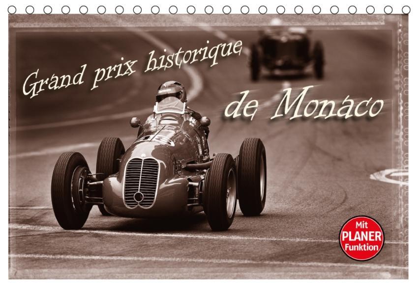 Grand Prix historique de Monaco (Tischkalender 2017 DIN A5 quer) - Coverbild