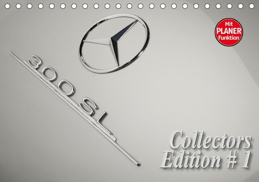 300 SL Collectors Edition 1 (Tischkalender 2017 DIN A5 quer) - Coverbild