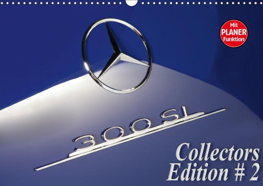 300 SL Collectors Edition 2 (Wandkalender 2017 DIN A3 quer) - Coverbild