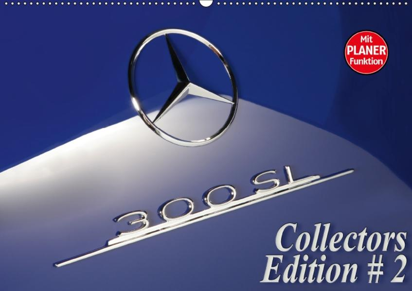 300 SL Collectors Edition 2 (Wandkalender 2017 DIN A2 quer) - Coverbild