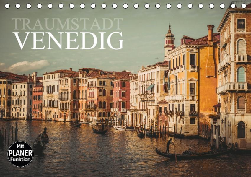 Traumstadt Venedig (Tischkalender 2017 DIN A5 quer) - Coverbild