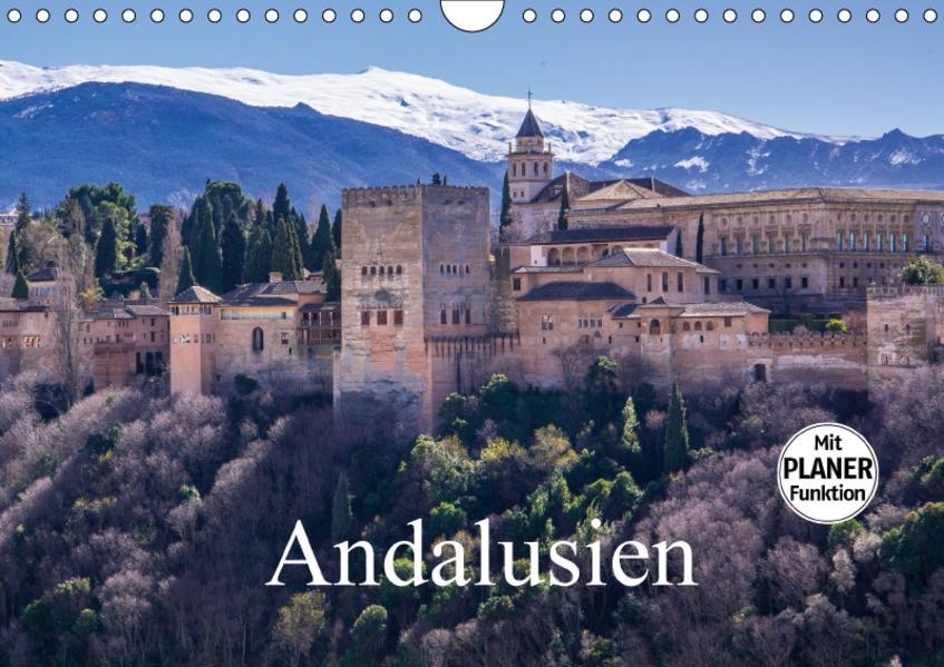 Andalusien (Wandkalender 2017 DIN A4 quer) - Coverbild