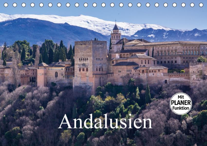 Andalusien (Tischkalender 2017 DIN A5 quer) - Coverbild