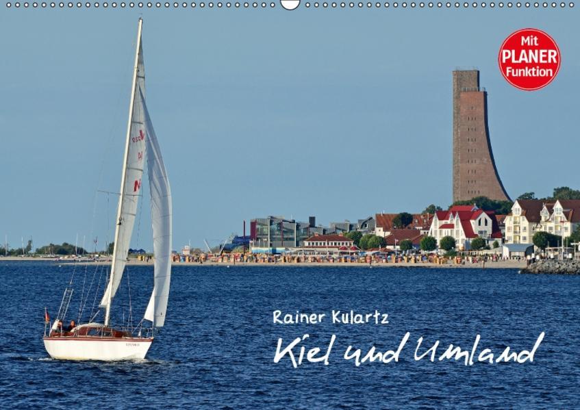 Kiel und Umland (Wandkalender 2017 DIN A2 quer) - Coverbild
