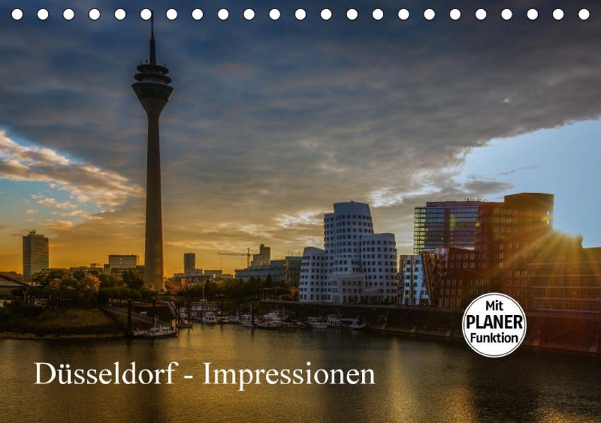 Düsseldorf - Impressionen (Tischkalender 2017 DIN A5 quer) - Coverbild