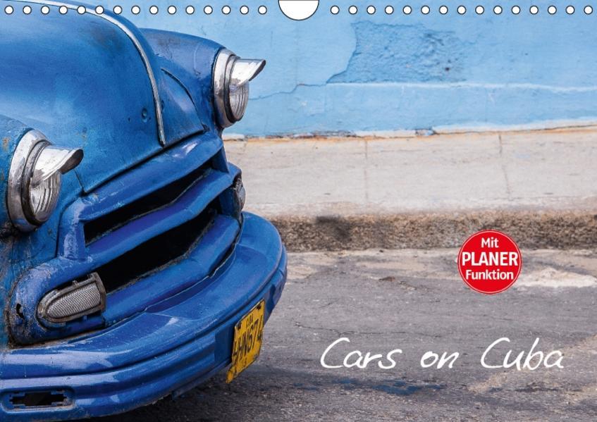 Cars on Cuba (Wandkalender 2017 DIN A4 quer) - Coverbild