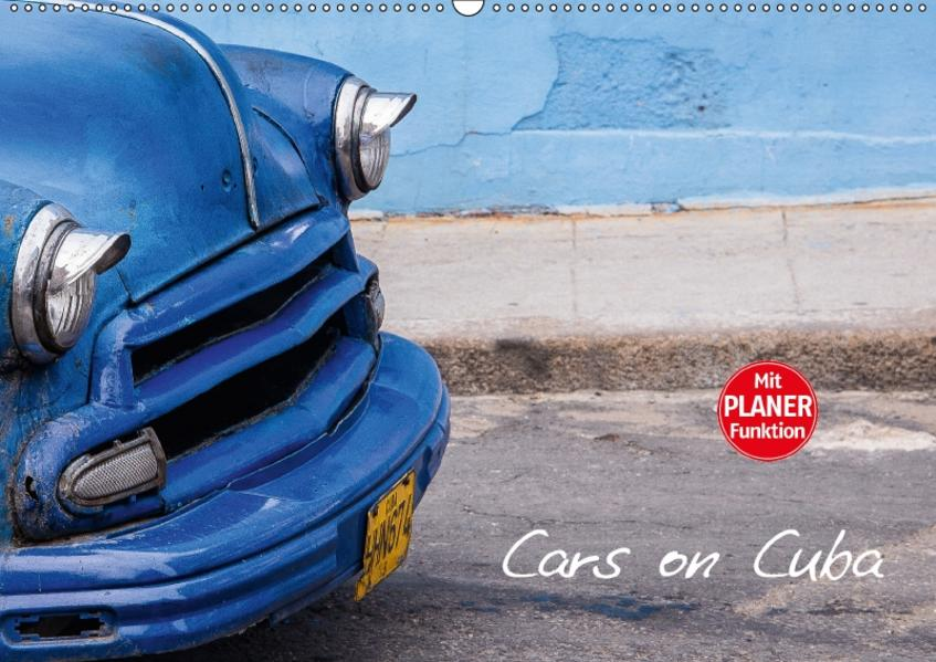 Cars on Cuba (Wandkalender 2017 DIN A2 quer) - Coverbild