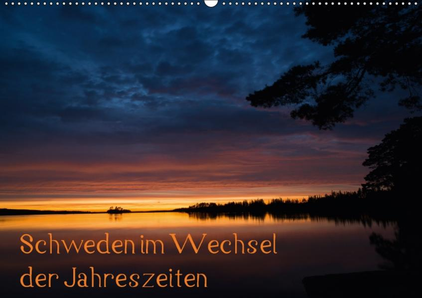 Schweden im Wechsel der Jahreszeiten (Wandkalender 2017 DIN A2 quer) - Coverbild
