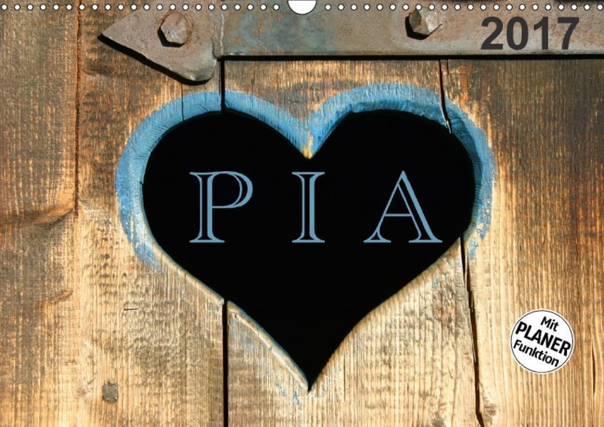 PIA- Namenskalender (Wandkalender 2017 DIN A3 quer) - Coverbild