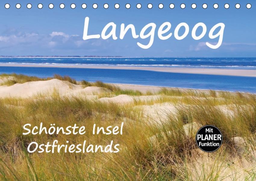 Langeoog - Schönste Insel Ostfrieslands (Tischkalender 2017 DIN A5 quer) - Coverbild