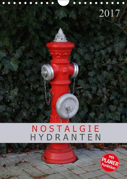 Nostalgie Hydranten (Wandkalender 2017 DIN A4 hoch) - Coverbild