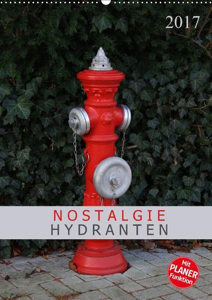 Nostalgie Hydranten (Wandkalender 2017 DIN A2 hoch) - Coverbild