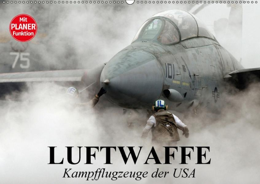 Luftwaffe. Kampfflugzeuge der USA (Wandkalender 2017 DIN A2 quer) - Coverbild
